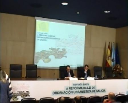 Edición de Vigo - Javier Bugallo Thielen, arquitecto Redactor de Planeamento - Novas Xornadas sobre A Reforma da Lei de Ordenación Urbanística de Galicia